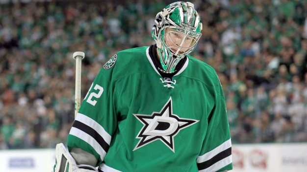 Lehtonen's 36th Shutout Gives Stars 1-0 Win over Sharks