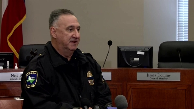 Little Elm Police Chief Witnessed Fatal Shooting Barry