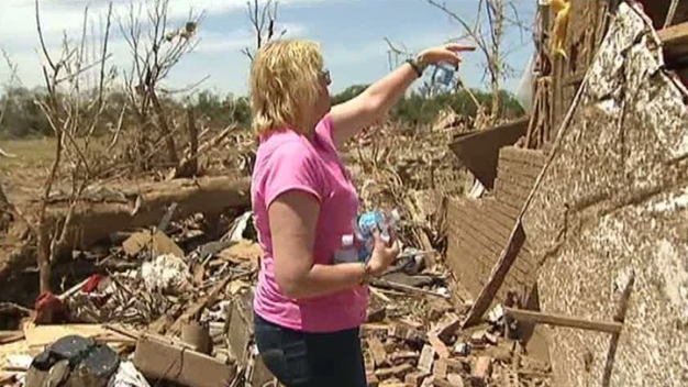Trapped Tornado Survivor: