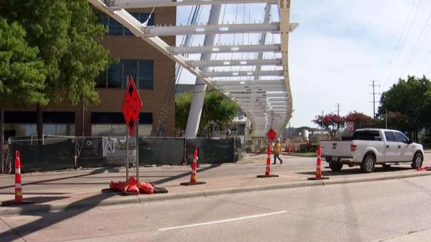 Trail Bridge Over Mockingbird Given Opening Date