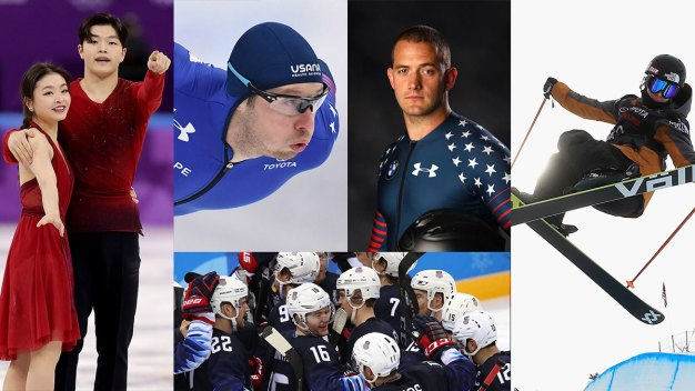 5 to Watch Monday: Ice Dancing, Bobsledding, & Speed Skating