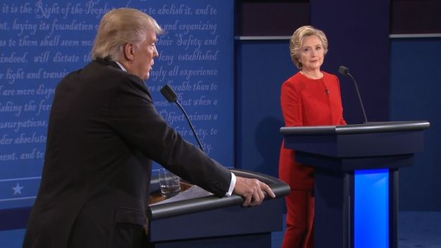 Sparks Fly in First Presidential Debate