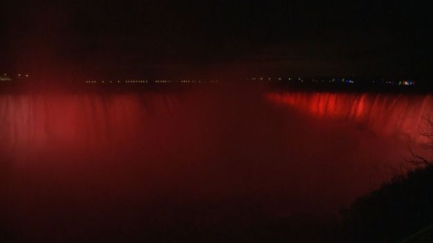 Niagara Falls New Light Display Revealed