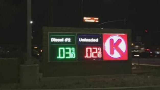 Circle K Gas for 2 Cents After Glitch