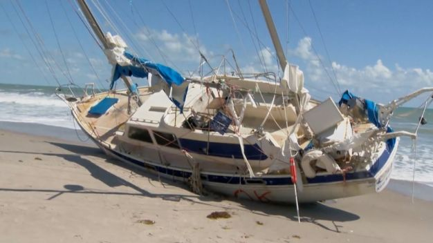 Mysterious Sailboat Washes Ashore