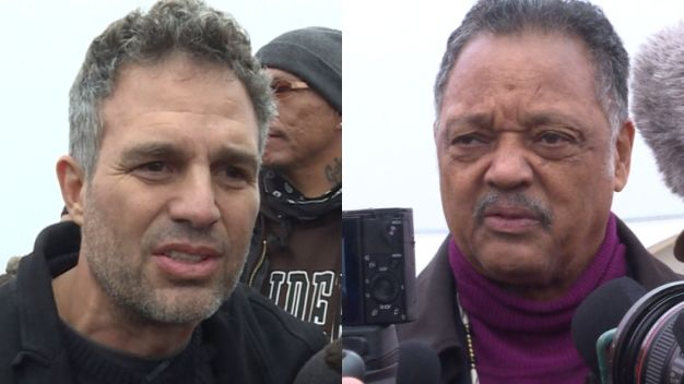 Mark Ruffalo, Jesse Jackson Join Pipeline Protesters