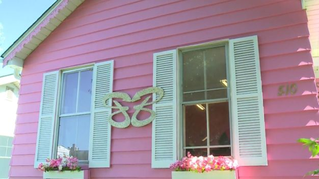 Pink House In Violation of City Ordinance
