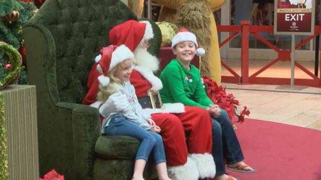 Special Needs Kids Get One-on-One Time With Santa