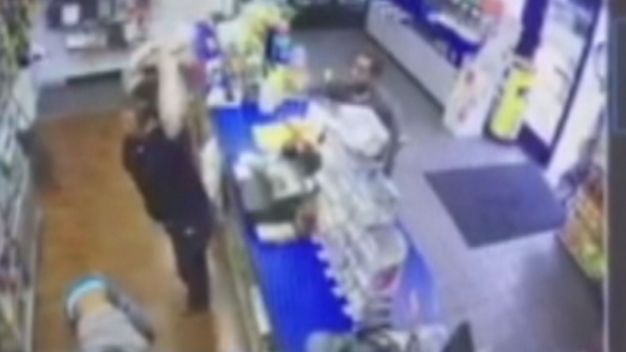 Caught On Camera: Clerks Fight Back
