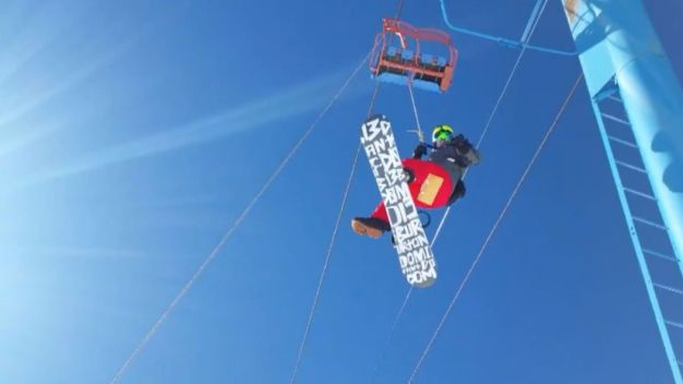 Power Outage Leaves Skiers Hanging