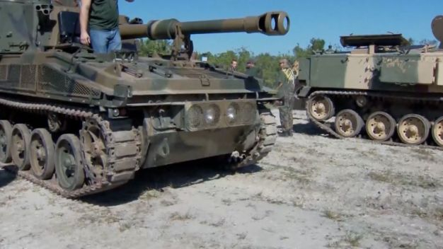 Company Lets Customers Crush Cars With Tanks