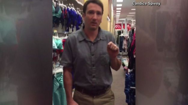 Convicted Voyeur Chased Down at Target
