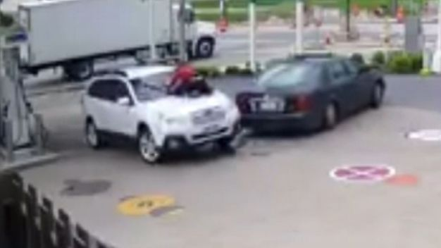 Wild Ride: Woman Takes on Car Thief
