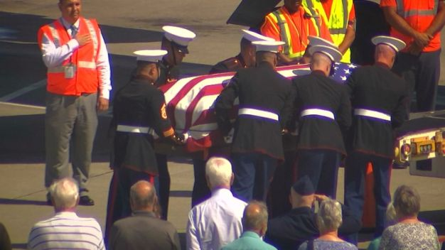 World War II Soldier Comes Home