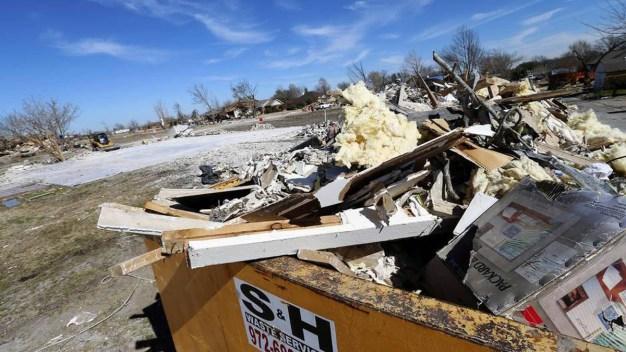 Standards Eased for Rebuilding Homes Post-Tornadoes