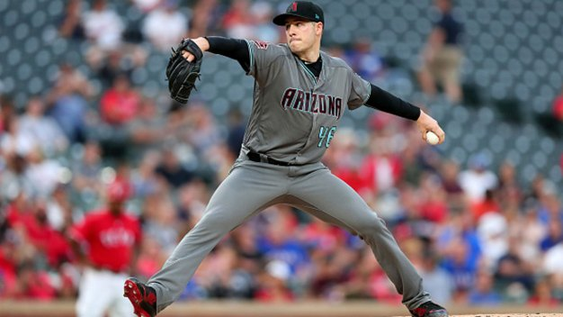 Goldschmidt Homers, Corbin Sharp in D-Backs Win Over Rangers