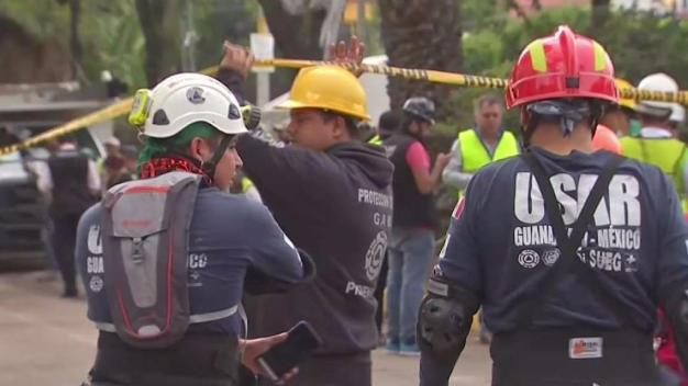 Rescuers Continue Search for Life in Rubble of Mexico Quake