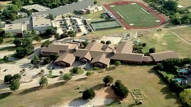 Raw Video: Heritage Elementary School in Grapevine
