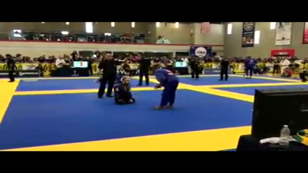 Raw Video: Veteran, Triple Amputee Competes in Jiu-Jitsu