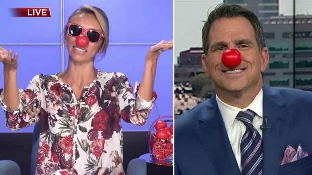 Gearing Up for Red Nose Day