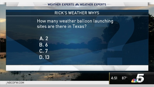 Weather Quiz: Weather Balloon Launching Sites