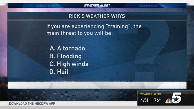 Weather Quiz: 'Training'