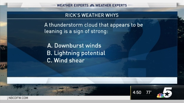 Weather Quiz: Thunderstorm Clouds