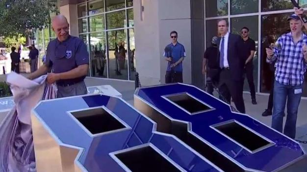 Ring Honor Walk Unveiled at The Star in Frisco