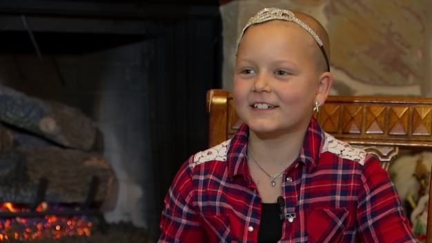 Girl, 9, Collects Toys for Cancer Patients