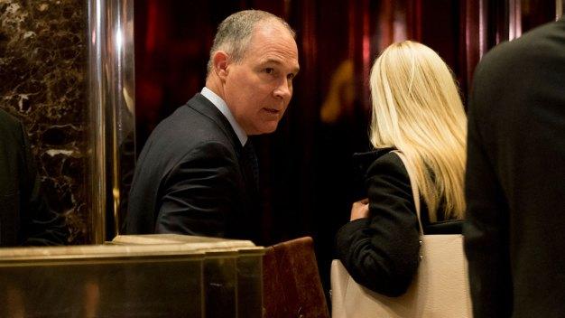 Trump Taps EPA Critic Pruitt to Lead Agency