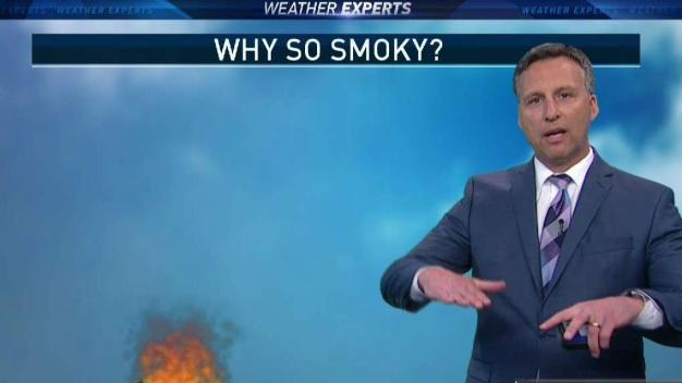 What Caused Smoke to Stick Around in North Texas?