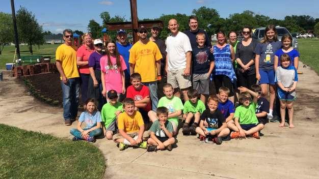 Cub Scouts Revamp Haslet Veterans Memorial