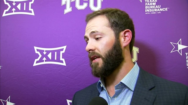Cy Young winner Jake Arrieta at TCU's First Pitch Banquet