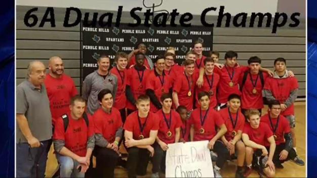 Arlington Martin HS Wrestling Team State Champs