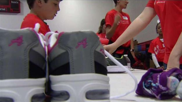 NTX Churches, Charity Give Away 2,000 Pairs of Shoes to Kids