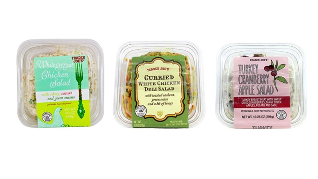 Trader Joe's Chicken & Turkey Salads Recalled