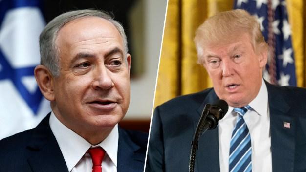Trump, Israeli PM Have 'Very Warm' Conversation