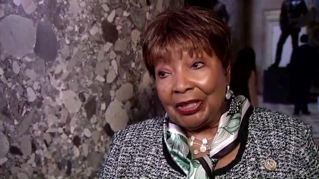 Raw Video: Rep. Eddie Bernice Johnson on Trump's First 100 Days