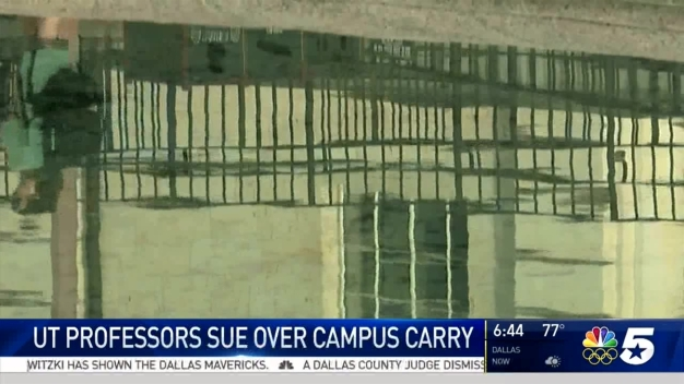 UT Professors Try To Stop Campus Carry Law