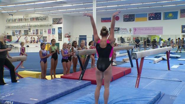 International Gymnasts Compete in Frisco