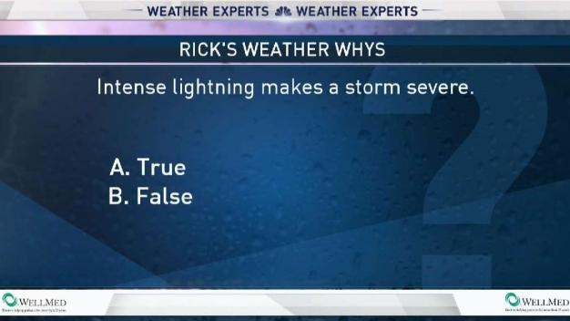 Weather Quiz: Intense Lightning