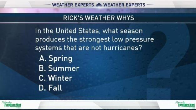 Weather Quiz: Strong Low Pressure Systems