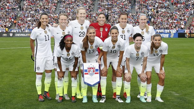 Team USA Women's Soccer Takes on Costa Rica