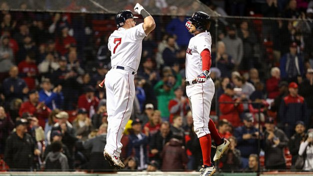 Bogaerts HR Caps Comeback as Red Sox Rally Past Rangers