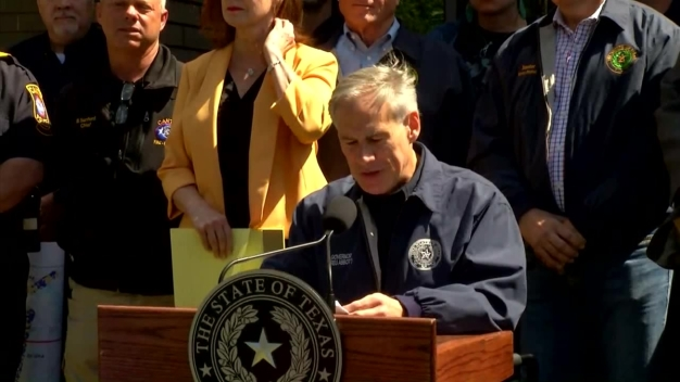 Governor Greg Abbott Talks About the Need for Supplies in East Texas