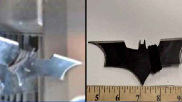 Man Attacks Officers With Batarangs