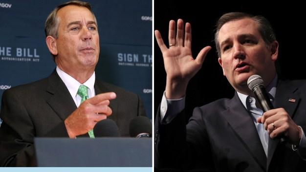 Boehner Calls Cruz 'Lucifer in the Flesh'