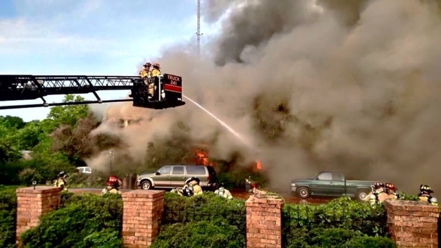 Man, Grandson Unaccounted for After House Fire