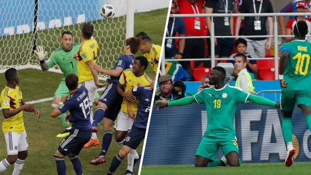 World Cup: Japan, Senegal, Russia Earn Victories