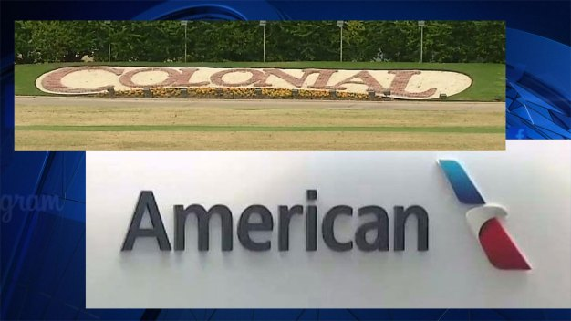 American Airlines Makes Contribution to Colonial Golf Tournament